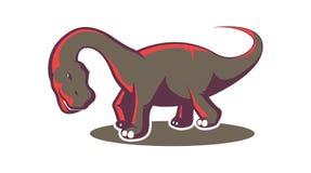 Dinosauriesymbol Royaltyfri Bild