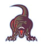 Dinosauriesymbol Royaltyfria Bilder