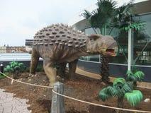 dinosaurieutställning Royaltyfria Foton