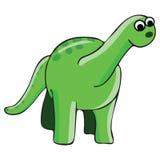 dinosaurillustration Royaltyfri Foto