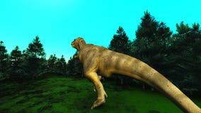 dinosaurio stock de ilustración