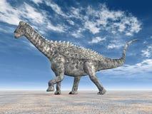 Dinosaurio Ampelosaurus Fotografía de archivo libre de regalías