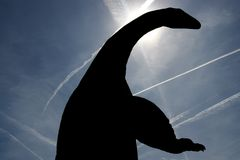 Dinosaurio antiguo Imagenes de archivo