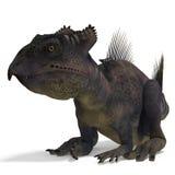 Dinosaurio Archaeoceratops Foto de archivo libre de regalías