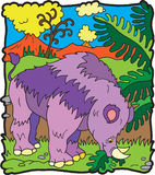 Dinosaurio Brontoterio Imagenes de archivo