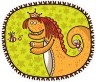 Dinosaurio con la abeja libre illustration