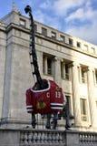 Dinosaurio de Blackhawks imagenes de archivo