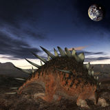 Dinosaurio de Kentrosaurus-3D Fotos de archivo