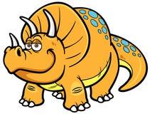 Dinosaurio de la historieta ilustración del vector