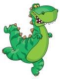 Dinosaurio de la prisa Foto de archivo libre de regalías