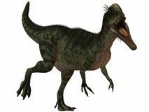 Dinosaurio de Monolophosaurus-3D Fotografía de archivo