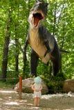 Dinosaurio de T-rex Imagen de archivo libre de regalías