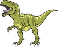 Dinosaurio de T-Rex del vector ilustración del vector