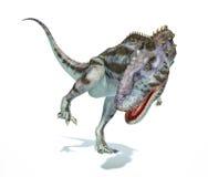 Dinosaurio del Majungasaurus, representación fotorrealista. V dinámico Fotografía de archivo
