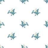Dinosaurio del vuelo en un fondo blanco Fotos de archivo