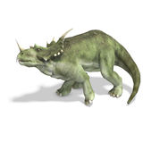 Dinosaurio Styracosaurus Foto de archivo