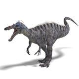 Dinosaurio Suchominus. representación 3D con el recortes Imagenes de archivo
