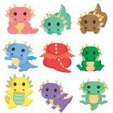 dinosaurios ฺBaby stock de ilustración