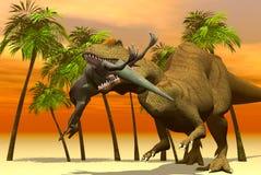 Dinosaurios ilustración del vector