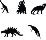 Dinosaurios. Fotografía de archivo