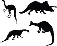 Dinosaurios. Imágenes de archivo libres de regalías