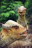Dinosaurios de Citipati Foto de archivo libre de regalías