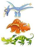 Dinosaurios de los monstruos Imagen de archivo