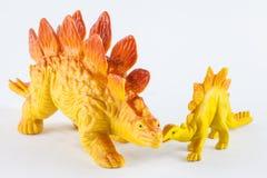 Dinosaurios del juguete Foto de archivo libre de regalías