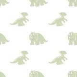 Dinosaurios inconsútiles del fondo Foto de archivo libre de regalías