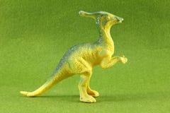Dinosaurios plásticos imagen de archivo