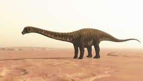 dinosaurlast stock illustrationer
