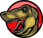 dinosaurmaskot Royaltyfria Bilder