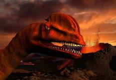dinosauro 3D illustrazione di stock