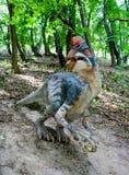 Dinosauro Fotografia Stock Libera da Diritti