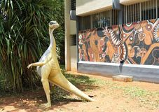 Dinosauro in Africa fotografia stock libera da diritti