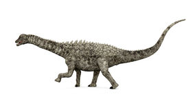 Dinosauro Ampelosaurus Fotografia Stock