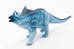 Dinosauro blu Fotografia Stock