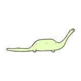 dinosauro comico del fumetto Fotografia Stock Libera da Diritti