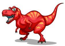 Dinosauro con i denti taglienti Fotografia Stock Libera da Diritti