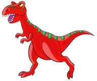 Dinosauro del tyrannosaurus del fumetto. royalty illustrazione gratis