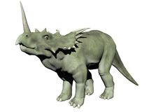 Dinosauro dello Styracosaurus - 3D rendono Immagine Stock