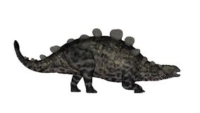 Dinosauro di Chrichtonsaurus che cammina - 3D rendono Immagini Stock