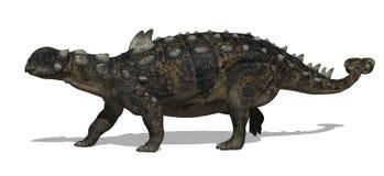 Dinosauro di Euoplocephalus illustrazione vettoriale