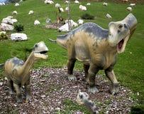 Dinosauro di Oviraptor Fotografie Stock