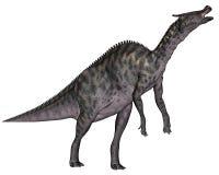 Dinosauro di Saurolophus - 3D rendono Fotografie Stock Libere da Diritti