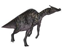 Dinosauro di Saurolophus - 3D rendono Fotografia Stock