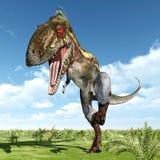 Dinosauro Nanotyrannus illustrazione di stock
