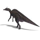 Dinosauro Saurolophus illustrazione vettoriale