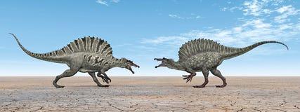 Dinosauro Spinosaurus Fotografia Stock Libera da Diritti