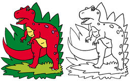Dinosauro T-Rex Illustrazione Vettoriale